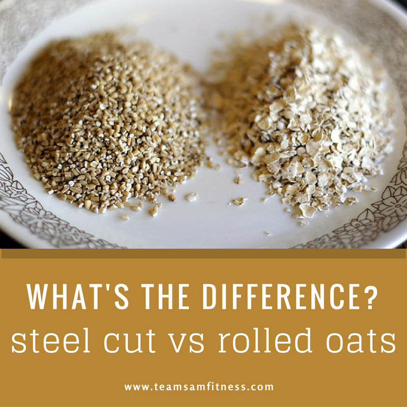 Steel cut oats vs rolled oats. What's the difference?