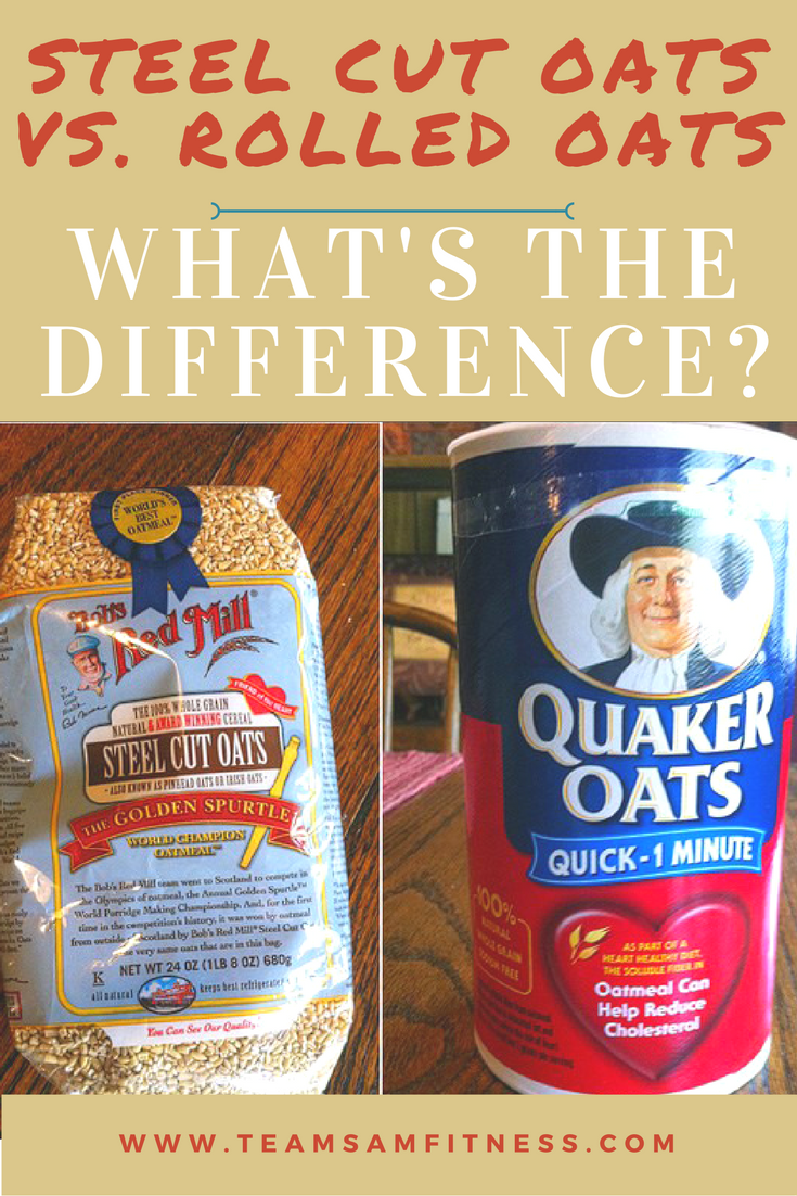What's the difference between steel cut and rolled oats?