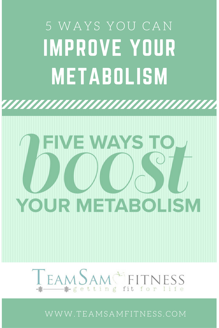 How you can improve your metabolism!