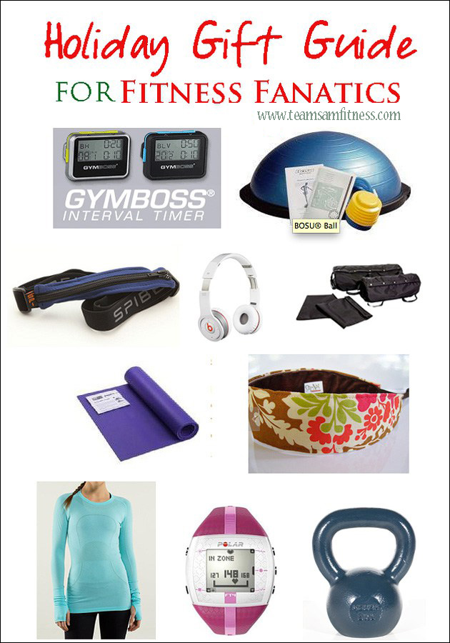 Holiday Gift Guide for Runners by TeamSam Fitness