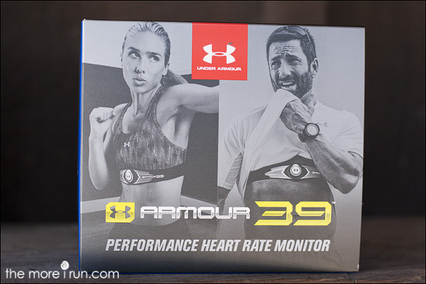 Armour39 heart rate monitor by Under Armour