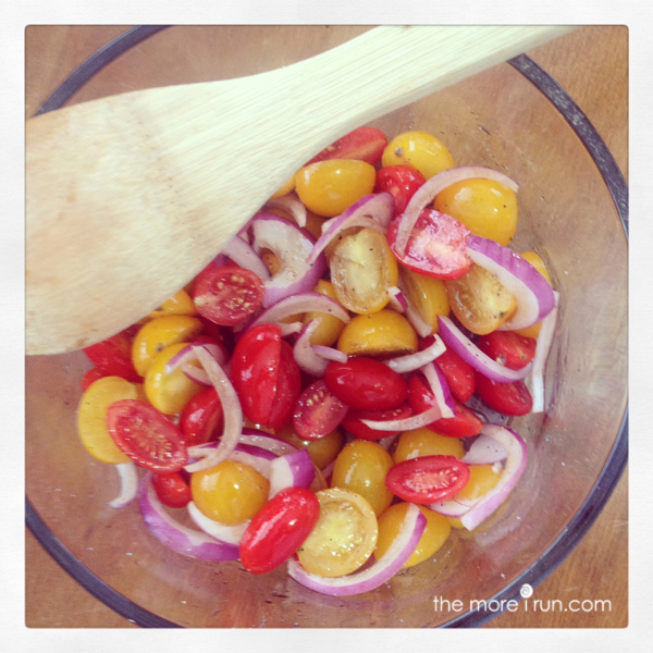 Summer Tomato Salad is perfect for warm weather!