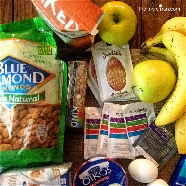 Just a few of my favorite snacks to pack for travel!