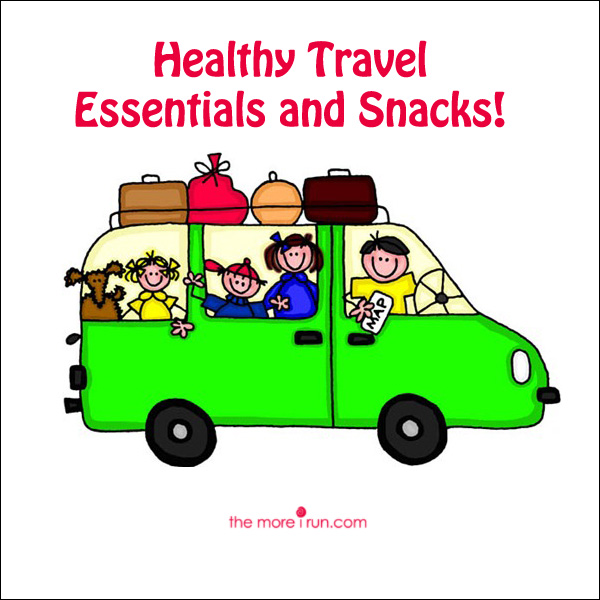 Healthy Travel Snacks for the Road!