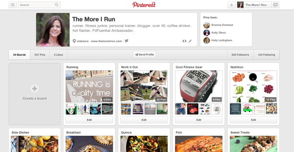 The More I Run on Pinterest!