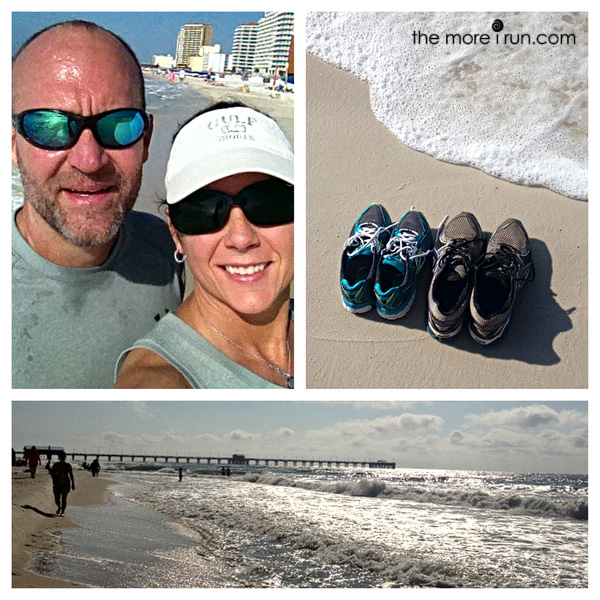 Running along the beaches of Gulf Shores is one of my favorites.
