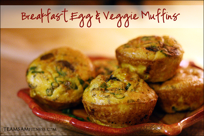 Egg and Vegetable Breakfast Muffins