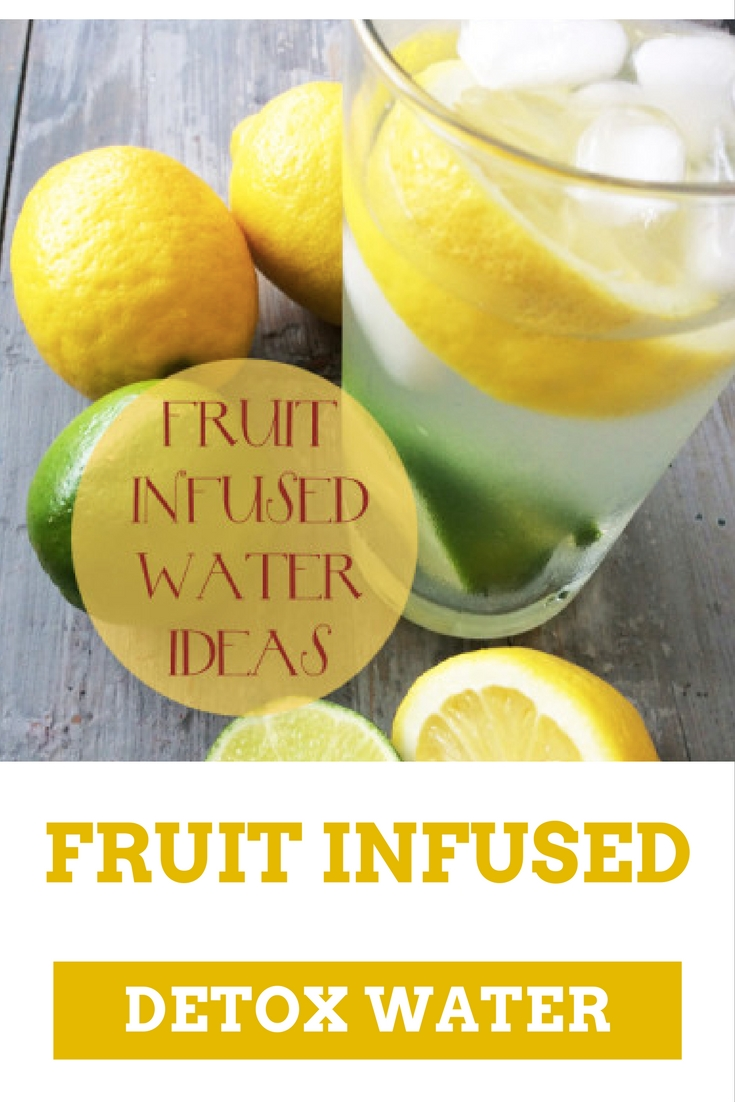 Fruit infused detox water by TeamSam Fitness