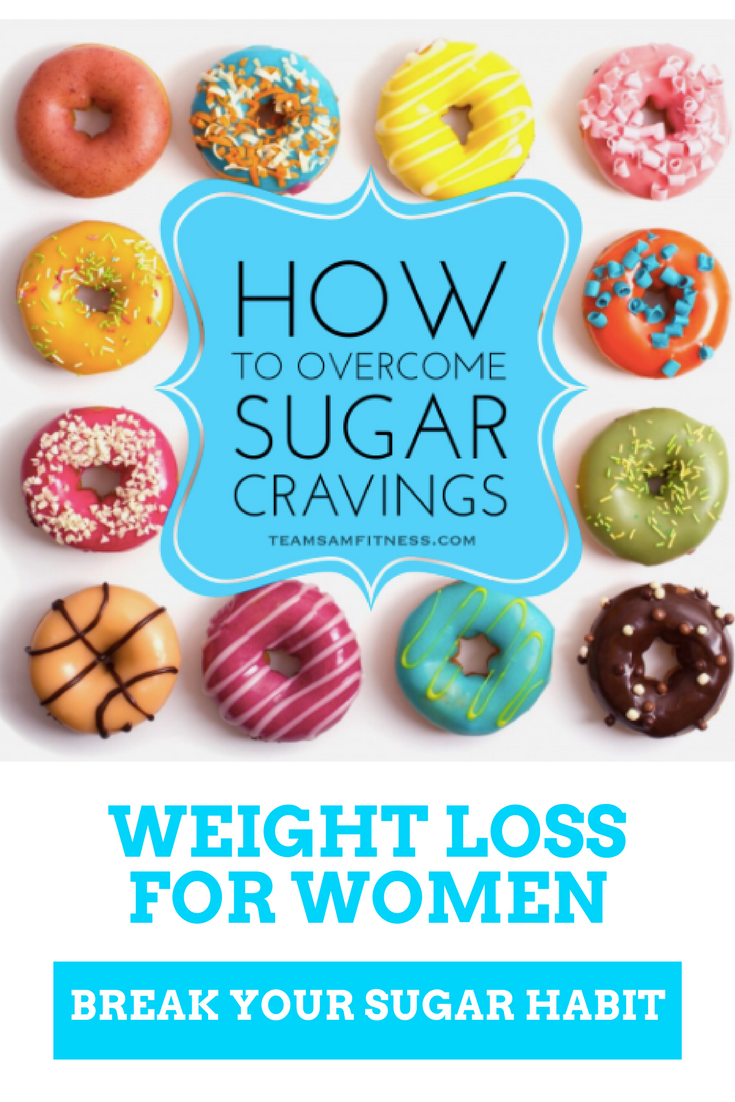 weight loss for women over 40 break your sugar habit by TeamSam Fitness