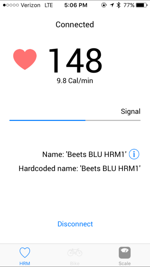 Beets Blu Heart Rate Monitor Review TeamSam Fitness