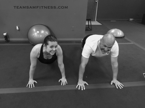 Couples Workout Class at Hillcrest Fit Body Boot Camp