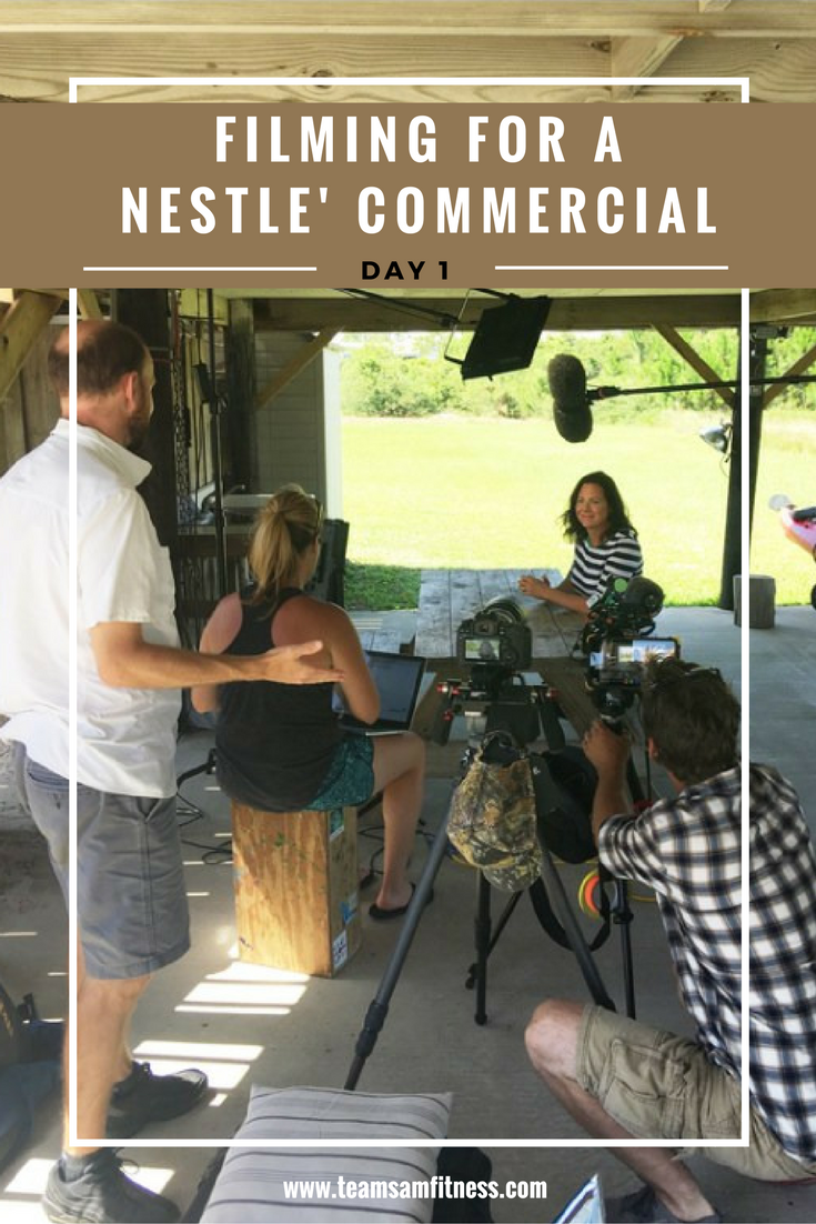 Filming for a Nestle' YouTube Commercial is one of the most incredible experiences I've ever had.
