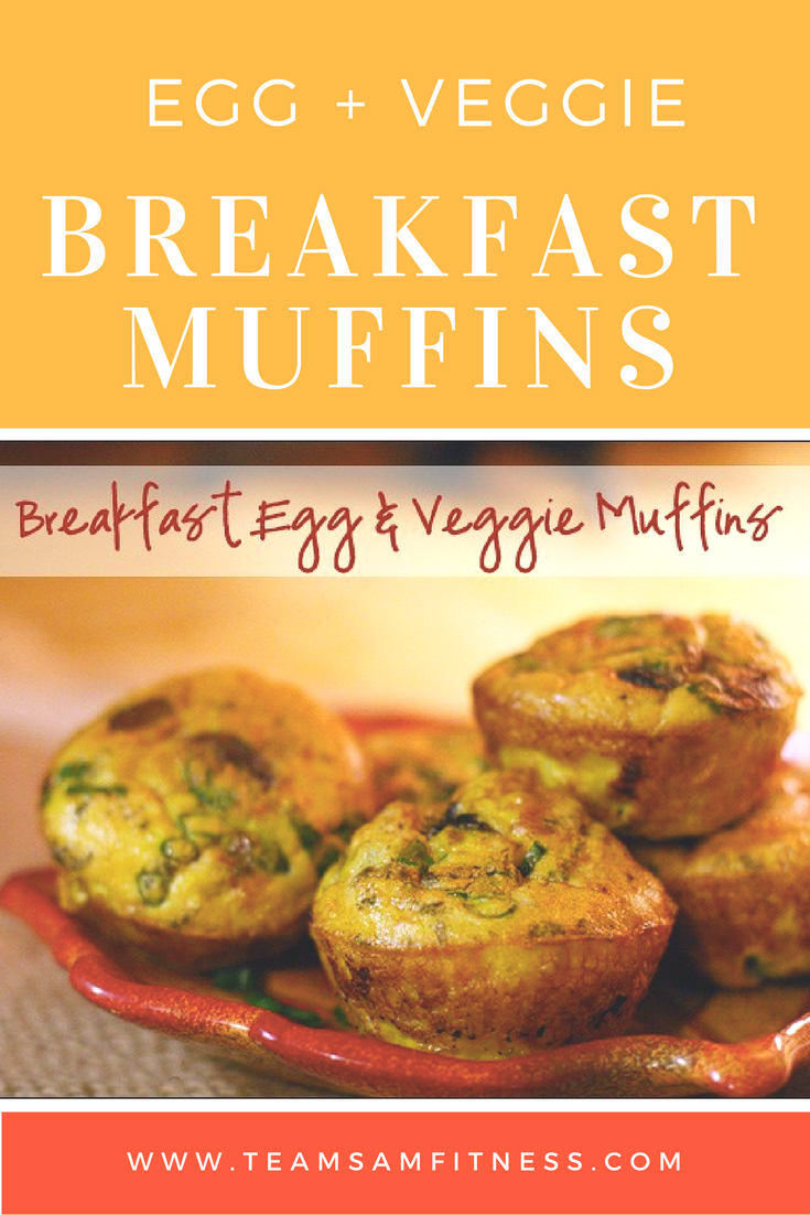 Quick, easy and healthy breakfast muffins for busy women and moms.