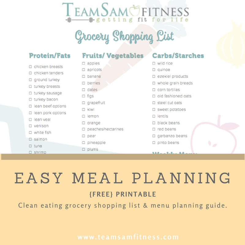 Meal Prep Made Easy + a FREE Printable!