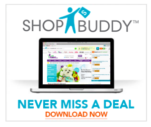 Download ShopBuddy and never miss a sale! Get paid to shop online.