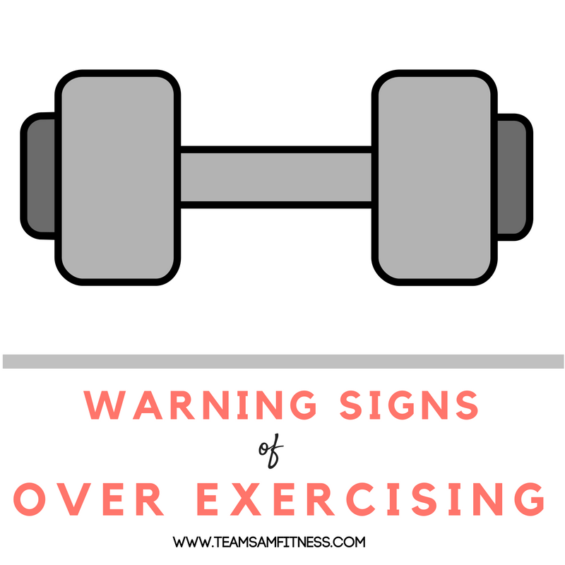 Warning signs of too much exercise and what you can do to prevent it.
