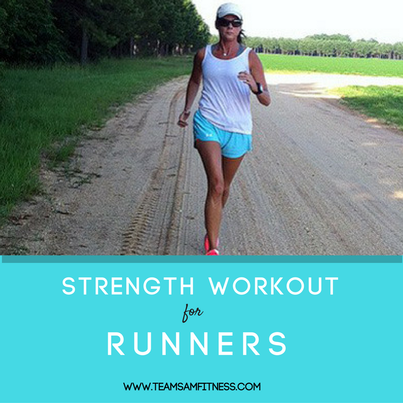 Increase your speed and performance with the strength building workout for runners.