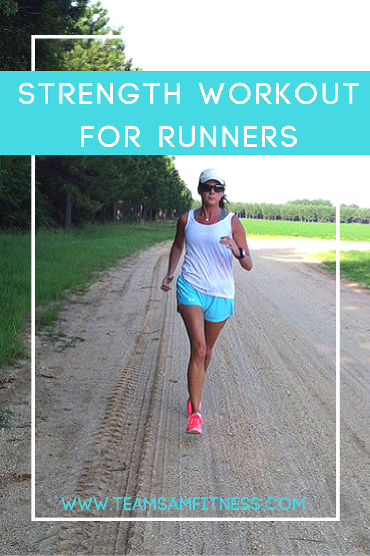 Improve your running performance with this strength and power workout for runners.