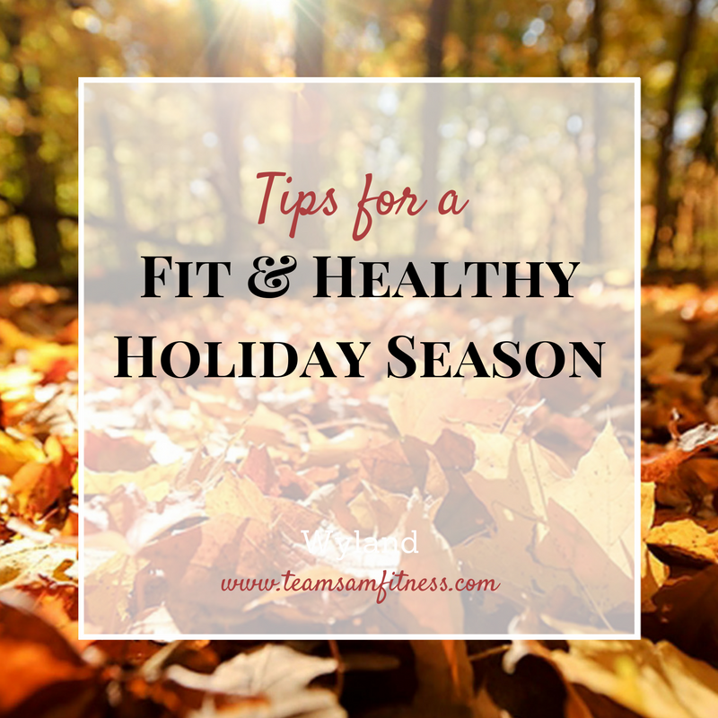Tips for a fit and healthy holiday season.