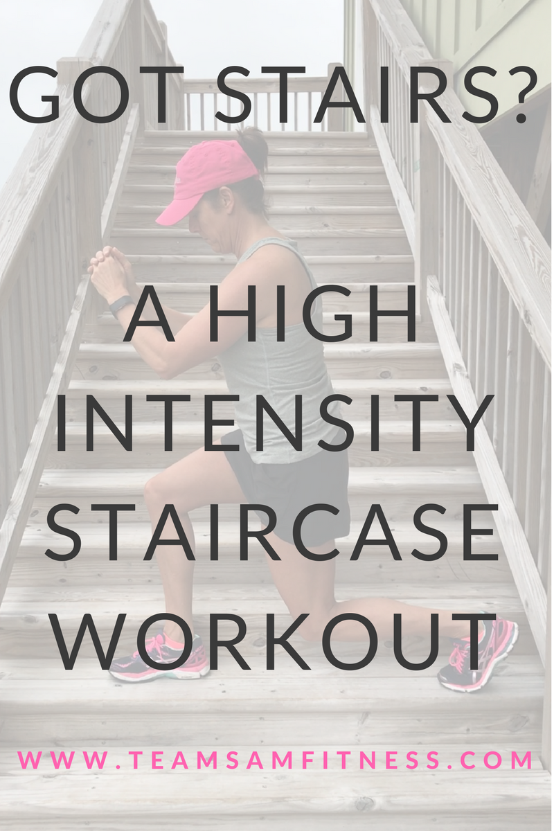 got stairs ~ A high intensity staircase workout