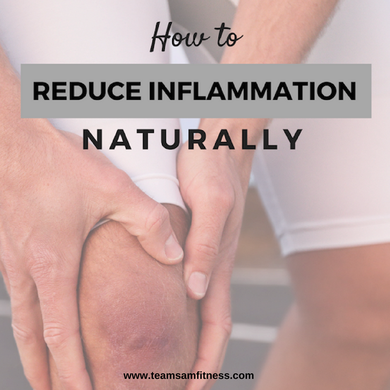How to reduce inflammation naturally.