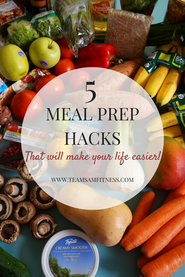 5 meal prep hacks that will make your life easier!
