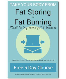 Start losing fat and inches teamsamfitness freecourse