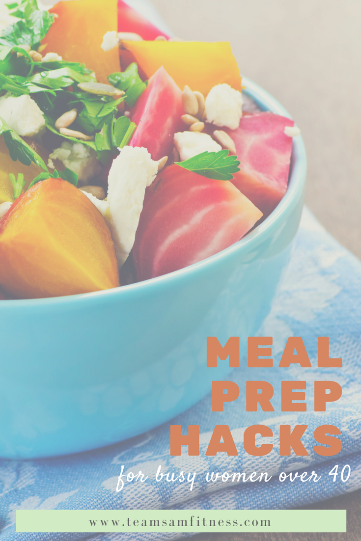 Easy Meal Prep Hacks for Busy Women Over 40